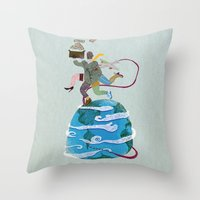 Fuga - Escape Throw Pillow