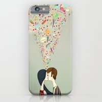 iPhone & iPod Case featuring love thoughts by Renia