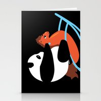 Panda Rock Stationery Cards