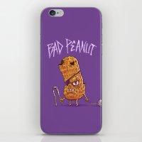 Bad Peanut iPhone & iPod Skin