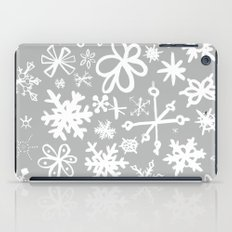 Snowflake Concrete iPad Case