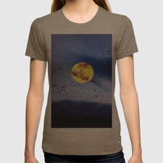 On a left along the moon and further to the east. Womens Fitted Tee Tri-Coffee SMALL