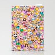 Emoji / Emoticons Stationery Cards