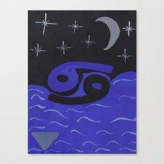 Cancerian Night Canvas Print