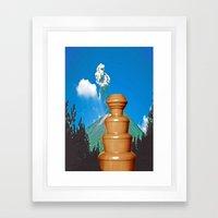 sjokolade&fjellet Framed Art Print