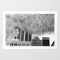 silver cloud 5 Art Print