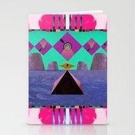 Simetria Celestial II  Stationery Cards
