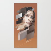 My Girl is Anarchy-tect Canvas Print