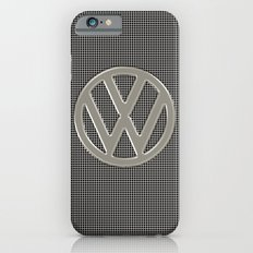 VW Silver Grill Slim Case iPhone 6s