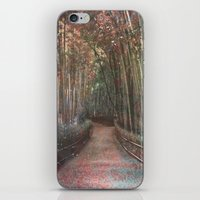 forest2 iPhone & iPod Skin