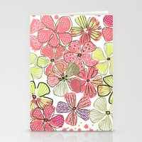 Stationery Card featuring Pink Hibiscus by Pink Pagoda Studio / Barbara Perrine Chu
