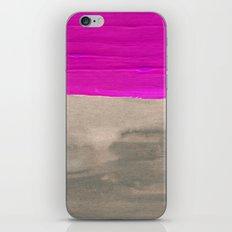 Dark Fuchsia iPhone & iPod Skin