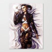 Mass Effect - Jack Canvas Print
