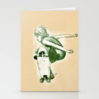 Rider II Stationery Cards
