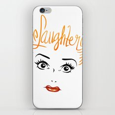 Bombshell Series: Laughter - Lucille Ball iPhone & iPod Skin