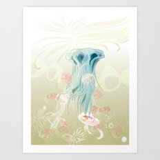 Goblet Delight Art Print