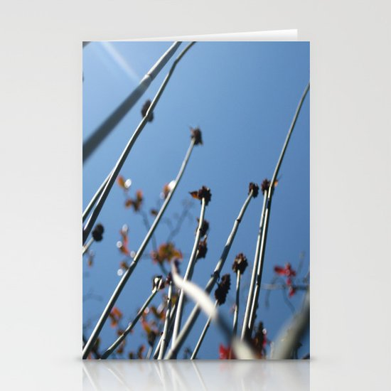 Skyscrapers Reach Stationery Card