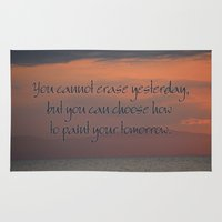 You Cannot Erase Yesterd… Rug
