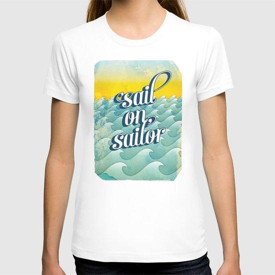 Sail on sailor, T-shirt