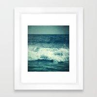 The Sea II. (Sea Monster… Framed Art Print