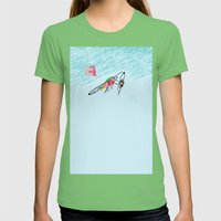 Bringing What I Got [MOT… Womens Fitted Tee Grass SMALL