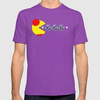 Pac Who! Mens Fitted Tee Ultraviolet SMALL