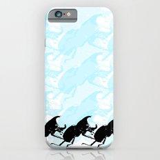 3 Scarabs Blue iPhone 6s Slim Case