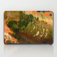 06-04-18 (Mountain Glitc… iPad Case