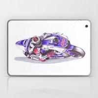 Ballpoint Pen, 99 , Jorge Lorenzo Laptop & iPad Skin