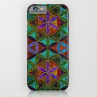 The Flower of Life (Sacred Geometry) 2 iPhone 6 Slim Case