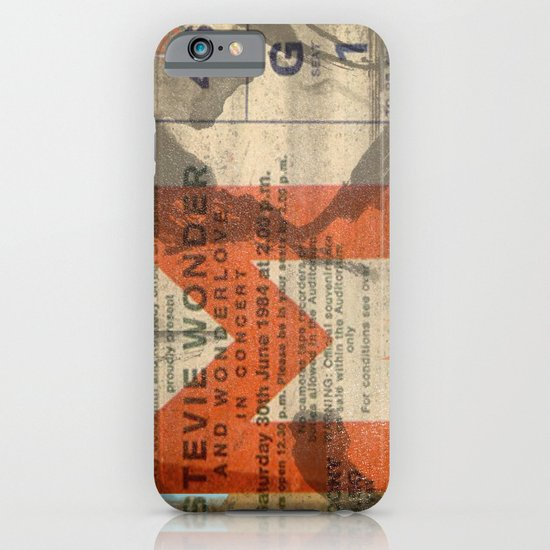 stevie wonder ticket stub iPhone & iPod Case