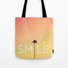 Palm Tree Smile new Hue Tote Bag