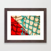 SHADOW PLAY Framed Art Print