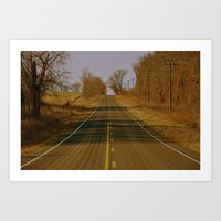 May the Road Rise to Meet You Art Print