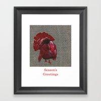Season's Greetings 02 Framed Art Print