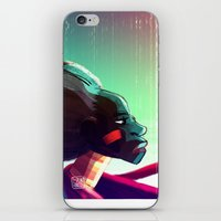 African woman iPhone & iPod Skin