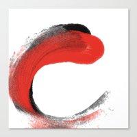 Strokes Canvas Print