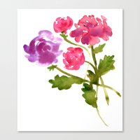 Floral No. 1 Canvas Print