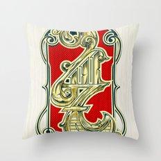 4117 Throw Pillow