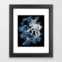 Interdimensional Icthy-d… Framed Art Print