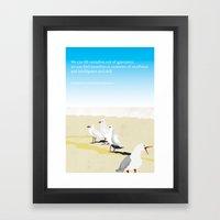 Jonathan Livingston Seagull Framed Art Print