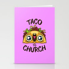 Excited Taco - Church Stationery Cards