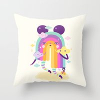 Nice To See You Again! Throw Pillow