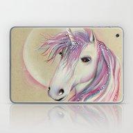 Unicorn Moon Laptop & iPad Skin