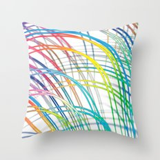 i'm a real wired one Throw Pillow