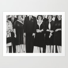 the mortician's wive's club Art Print