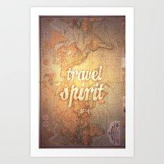 Travel Spirit #4 Art Print