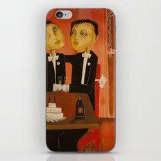 Wedding day iPhone & iPod Skin