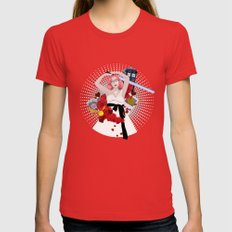 When Geeks Wed Womens Fitted Tee Red SMALL