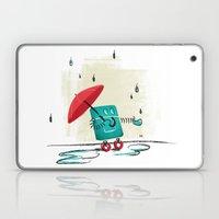 Rain Is Bad For Robots Laptop & iPad Skin